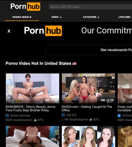 Free porn sites pornhub